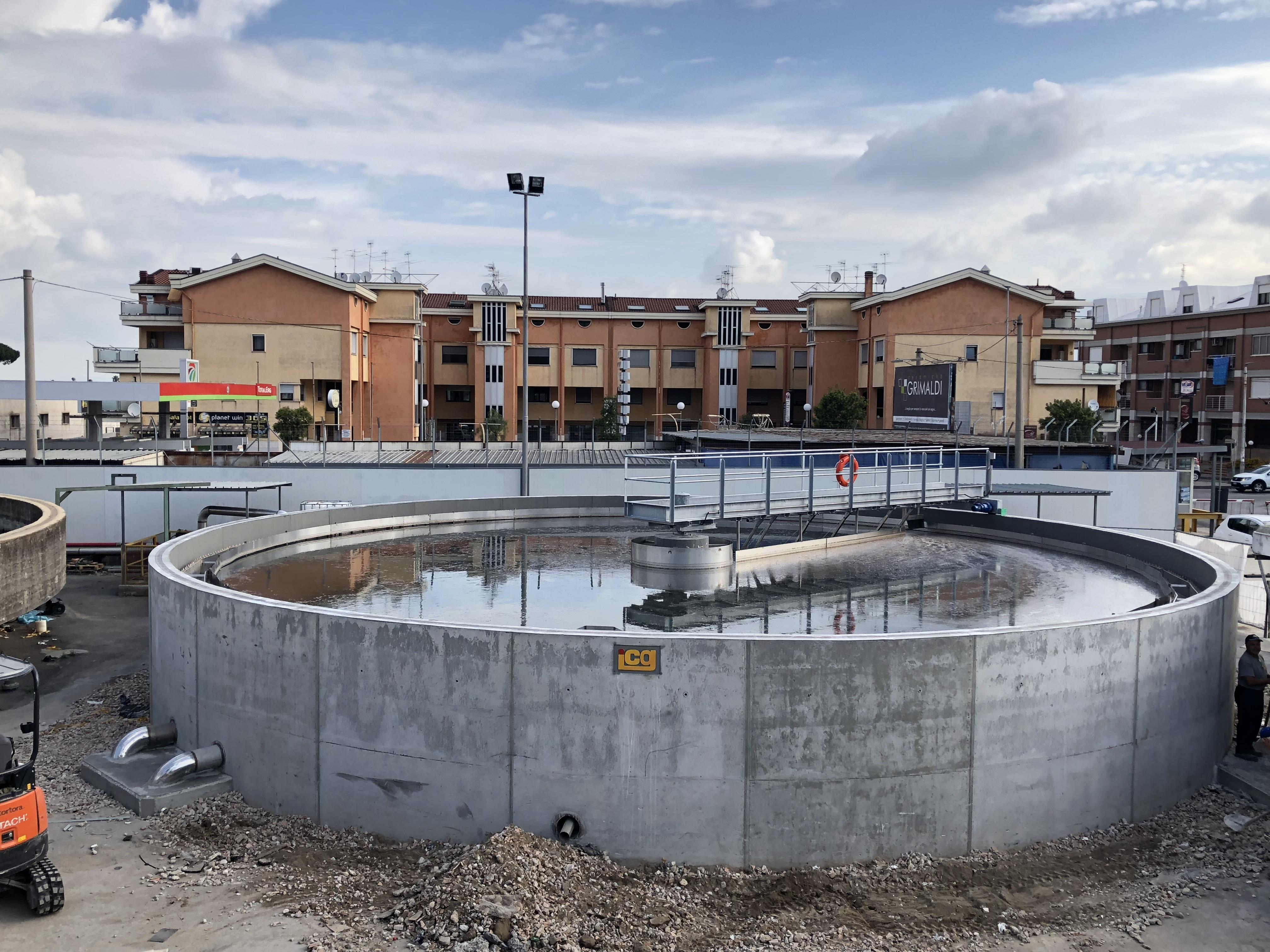 Depuratore La Doria - Angri